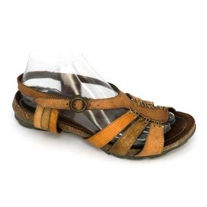 Samoa Italy Anthropologie Boho Strappy Sandals